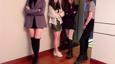 四位美女和广东小伙同居,这样的生活不少人羡慕吧?