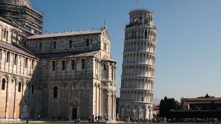 比萨大教堂广场,走进意大利,看比萨斜塔