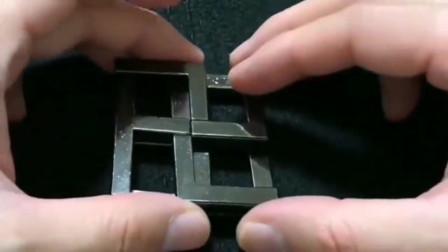 牛人创意:这个锁拼好后不准备再打开了,智商不允许呀!