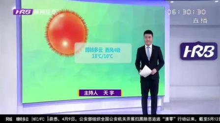 哈尔滨天气预报:14日-15日晴,最高温28℃最低温13℃,16日小雨