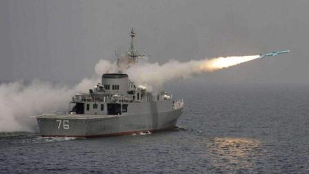 误击客机还不够?伊朗海军闹出血腥乌龙,反舰导弹炸毁本国军舰