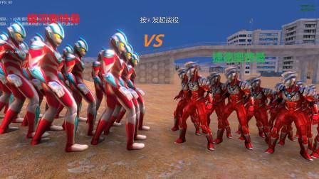 史诗战争模拟器:银河奥特曼VS捷德奥特曼,结果谁会取胜呢?