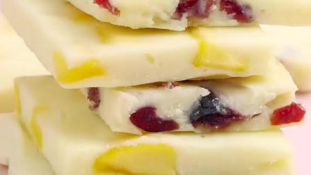 蔓越莓酸奶片制作方法,宅家小零食,酸酸甜甜