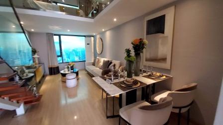 39平米精装两室loft公寓