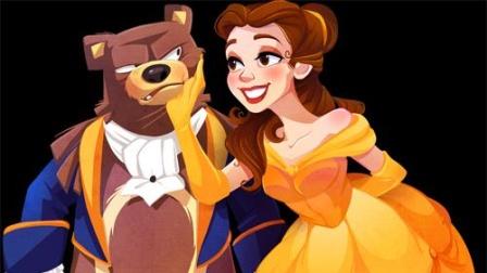 动画和真人混剪,为啥迪士尼的真人版童话电影每一部都能成为经典之作?看看这些神还原你就明白了