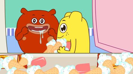 咕力咕力丫米果:夏天宝宝要注意什么 夏天不多吃冷饮 早晚要刷牙