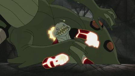 小班操作失误导致错误进化,怎料战斗力爆表,直接打败2个外星怪
