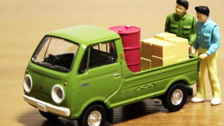 小汽车玩具,货车,皮卡车、面包车