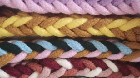 八股辫颜色怎么排列更好看?小蜗牛编织社原创编绳教学
