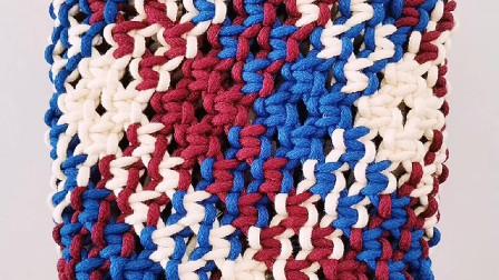 小蜗牛编织社原创设计编绳包包