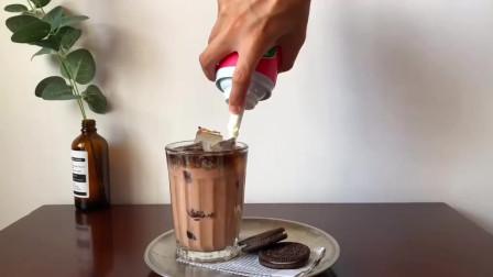 如何做巧克力咖啡拿铁