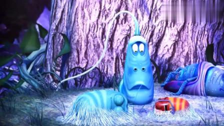 """爆笑虫子:虫虫们身上突然变蓝色了,上演虫虫""""阿凡达"""""""