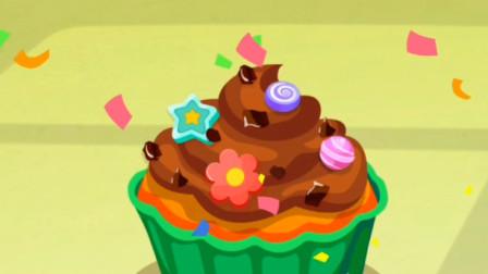 齐齐甜品店研制了新品抹茶蛋糕,快来尝尝吧!宝宝巴士游戏