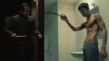 两位隔门对决,真是狠角色,连痛都不喊一声