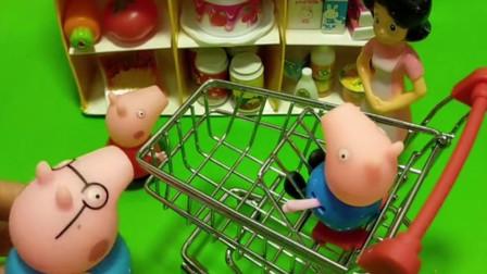 猪妈妈生日,猪爸爸带佩奇乔治给猪妈妈买生日蛋糕,可是巨人僵尸却把蛋糕抢走了!