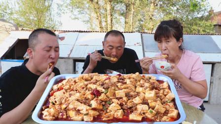 """下饭菜系的香饽饽""""麻婆豆腐""""做法简单易学,豆腐嫩而不碎"""