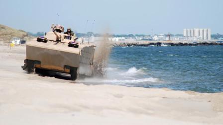 """号称""""铁掌水上漂"""",我国先进水陆两栖坦克,不仅火力猛速度也快"""