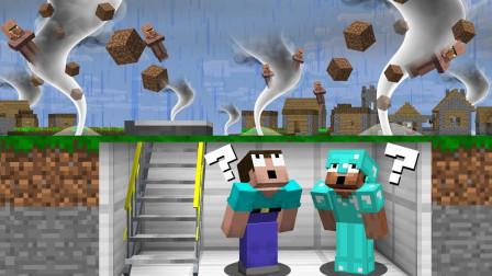 捡走博士的红色装置,怎料史蒂夫惹下大祸,直接引发了村庄的龙卷风?