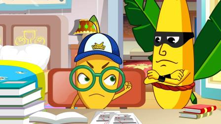 搞笑动画:男子嘲笑儿子笨,不料儿子反出一题