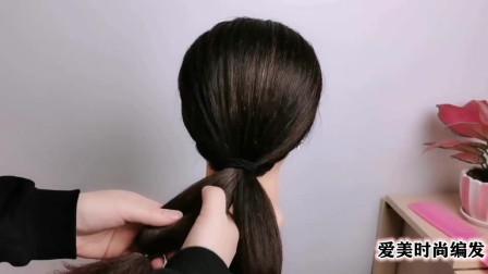 中年女人日常发型这样扎,让你美出新高度