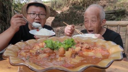 """3斤牛肉3斤番茄,做一份""""番茄牛腩""""汤汁浓郁,太下饭了"""