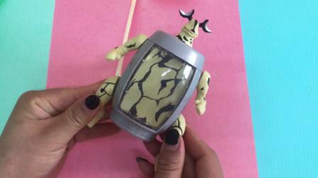 奥特曼玩具 胶囊变身怪兽艾蕾王