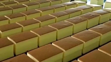 美国高科技生产的蛋糕,超级工厂内充斥着鸡蛋和奶香味