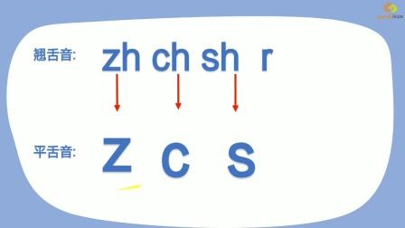 汉语拼音:学习声母zcsyw