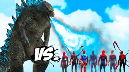 蜘蛛侠:哥斯拉VS蜘蛛侠,史诗般的战斗!