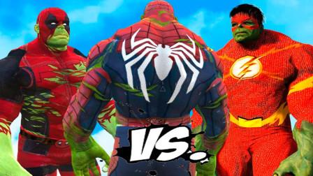 蜘蛛侠:蜘蛛侠VS终极绿巨人,真是史诗般的战斗!