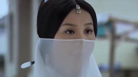 风中奇缘:刘诗诗知道面纱女想法,依然出手落叶飞刀,场面高能!