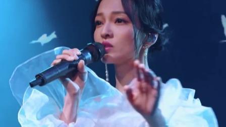张韶涵倔强又强大,坚持飞翔自由美满 天赐的声音 20200516