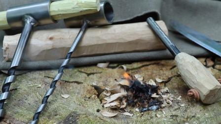 改造一根价值不足一包方便面的点火棒,野外点火同样好用!