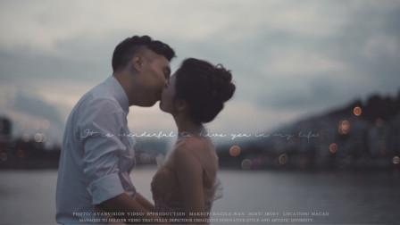 澳门旅拍「CHU + LING」| H²樂时出品