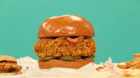 你以为这是肯德基巨无霸汉堡?其实是翻糖蛋糕,看完馋得口水直流!