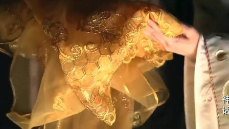 神话:为给易小川金丝,吕雉决定把自己的婚服拆了