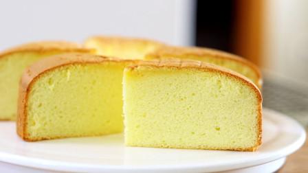 制作松软海绵蛋糕,看完你还买着吃吗?自己做的吃着才带劲儿