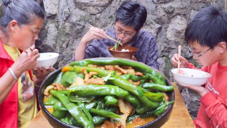 九九肉炒青椒,这是儿时的味道也是父亲的味道,九九勇夺第一