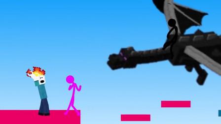 我的世界动画-火柴人学院 vs Roblox-Sticktoon