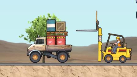 工程车工作视频工程卡车游戏14