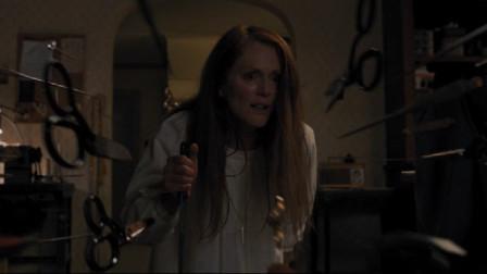 玛格丽特觉得嘉莉被魔鬼附身了,想要消灭她,结果被嘉莉反杀了
