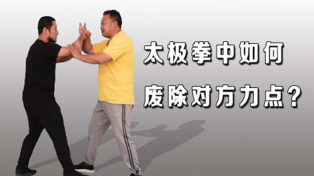 不见于武术典籍的太极拳截劲,废除双手力点,庞恒国老师讲武术