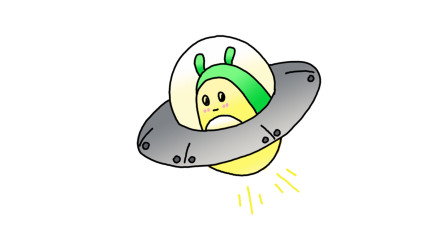 简单易学的UFO简笔画 - 一步一步教你画