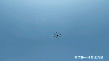 8轴电力放线无人机组装测试