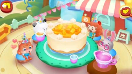 【佑宝】芒果蛋糕太好吃了吧? ? ! ! 宝宝巴士游戏