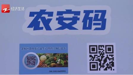 """经视新闻 2020 蔬菜也有""""合格证""""了!  我省首批农产品""""合格证""""在余杭启用"""