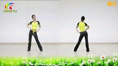 杨丽萍原创广场《40分钟强力混搭健身操》正反面教学