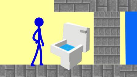 我的世界动画-火柴人学院-密室-sticktoon