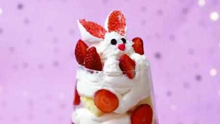 创意蛋糕:自制的水果蛋糕很健康哦