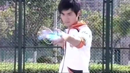 火力少年王:李非双球出击,背后出现的,是关公?